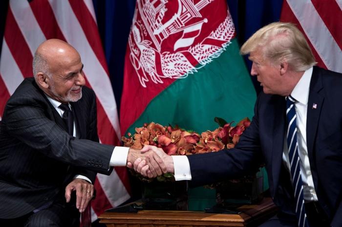 Президент Афганистана назвал превосходными отношения с Трампом