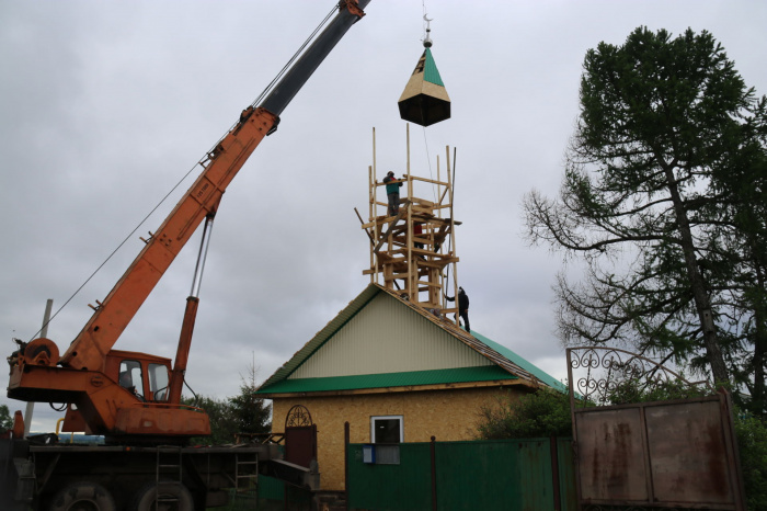Восстановленная после пожара мечеть торжественно открывается в Ютазинском районе